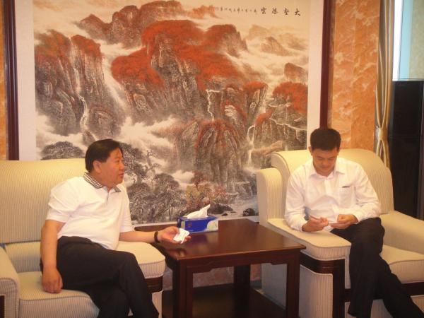 中国建设银行小微企业服务部拜访深圳市山西商会