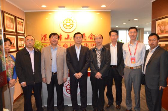 搭建联络处,深圳与长治互通信息