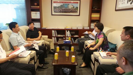 【商会要闻】——山西省灵丘县政府领导一行到我会交流座谈