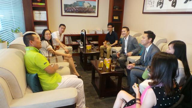 【商会资讯】——香港华人青年商家联会一行莅临我会考察走访