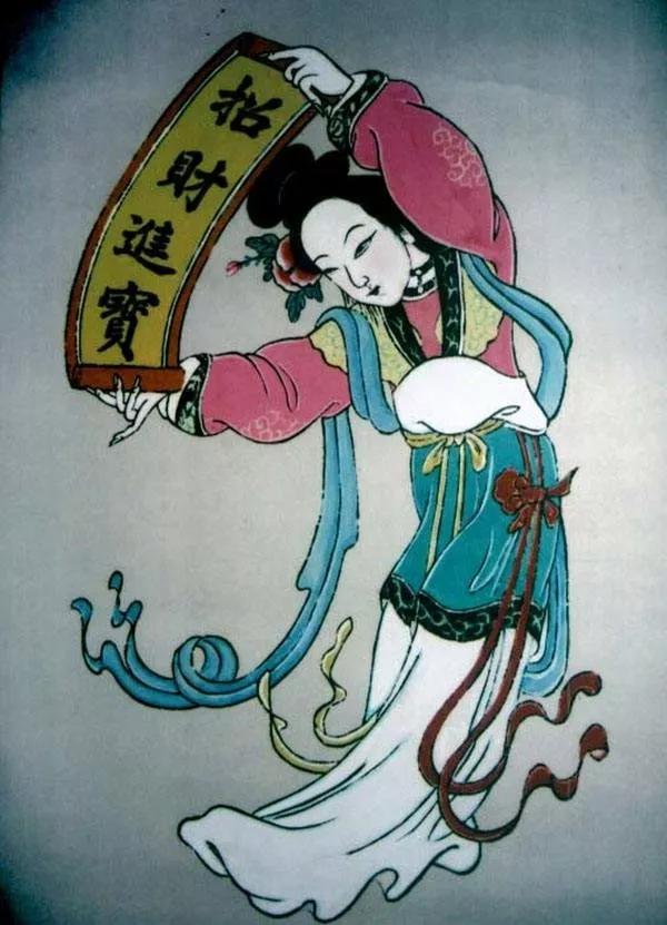 【山西非遗】——平阳木版年画