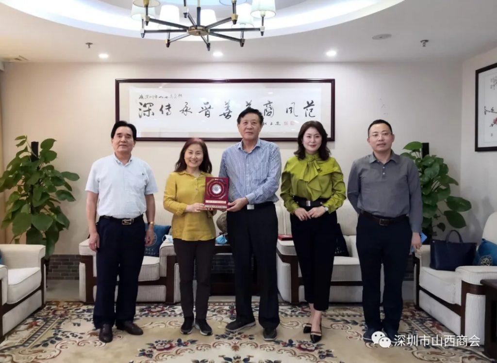 【商会新闻】——深圳市梅县商会领导一行到访我会