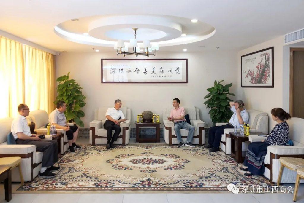 【商会新闻】——山西省农业厅副厅长姚继广一行到访我会