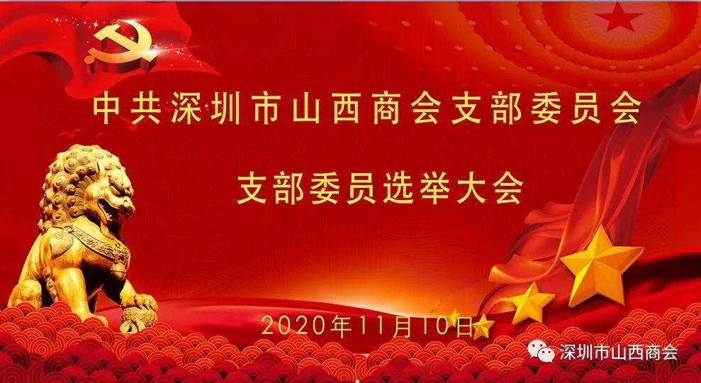 深圳市山西商会党支部2020记事