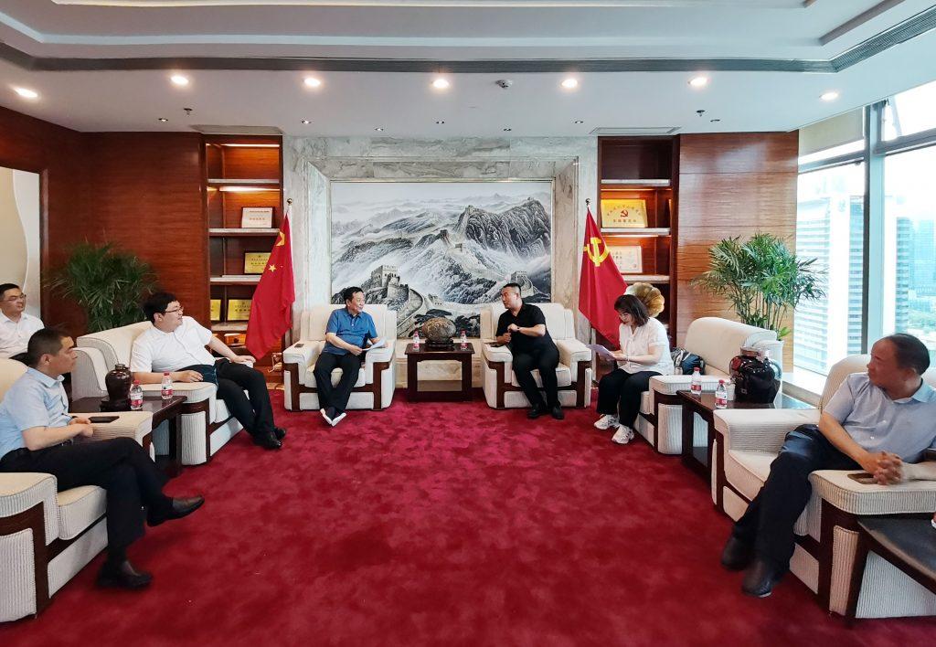 【商会新闻】沁县(深圳)考察团参观调研之二——走进深圳市山西商会