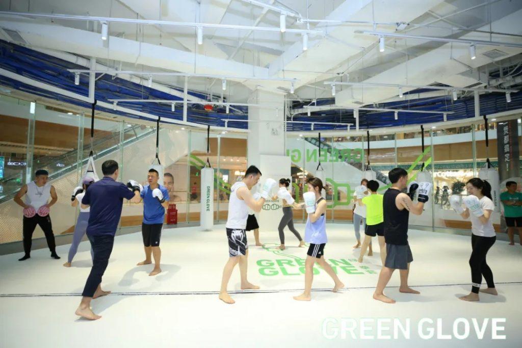 【会员风采】——Green Glove绿拳套拳击健身馆(来福士店),开业啦!