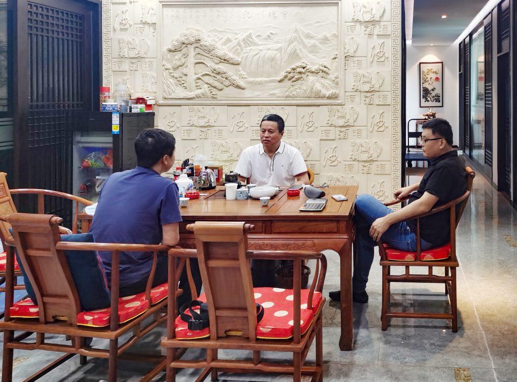 【商会新闻】走访副会长单位——深圳华粤酒业有限公司