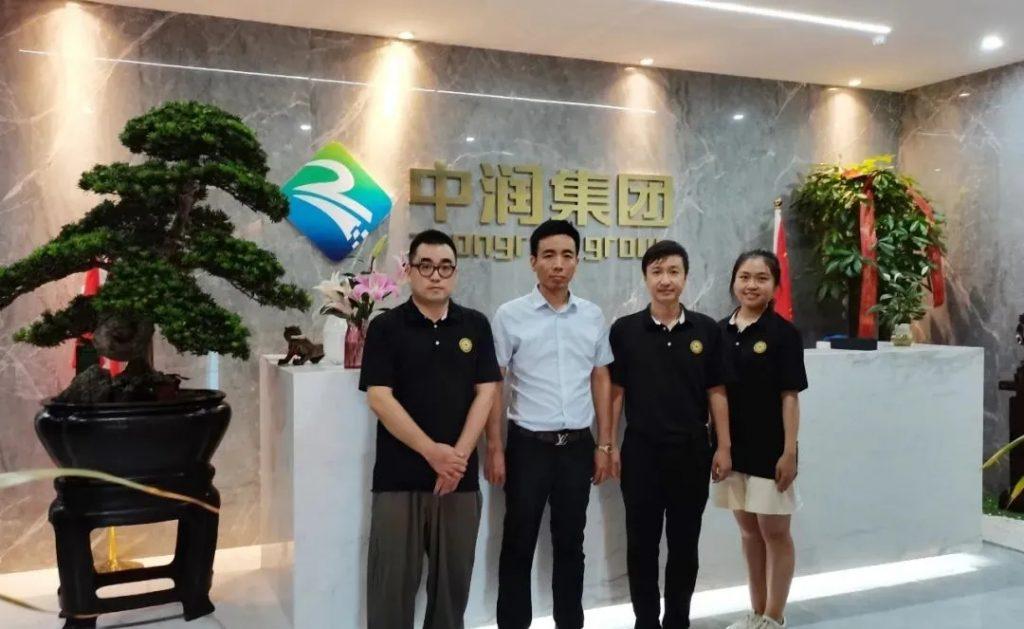 【商会新闻】走访副会长单位——深圳中润光电技术股份有限公司